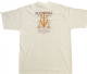 DROWNED WORLD TOUR - WHITE LEANING ITINERARY T-SHIRT